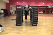 Ιπτάμενο push-up σε ύψος 1,36μ