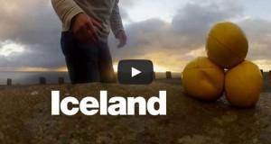 Η Ισλανδία από τα μάτια ενός ζογκλέρ (Video)