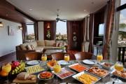 Κι ενώ απολαμβάνεις το πρωινό σου σε εξωτικό παράδεισο της Sri Lanka...