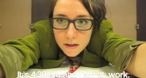 Κοπέλα παραιτήθηκε με ένα χορευτικό βίντεο για το αφεντικό της (Video)