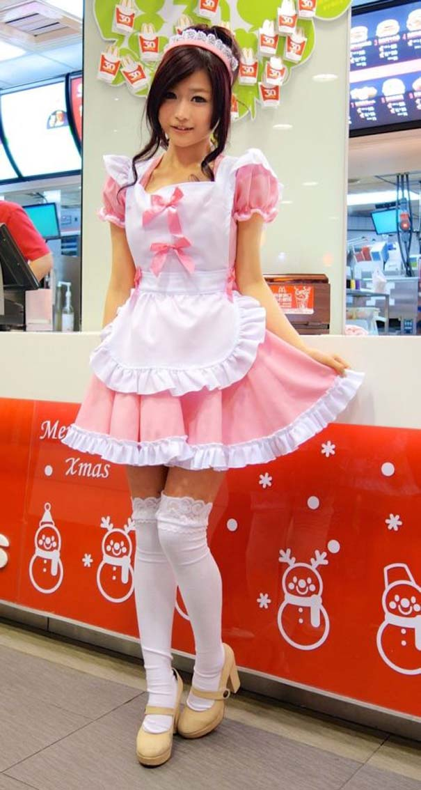 Τα κορίτσια των McDonald's στην Ταϊβάν (5)