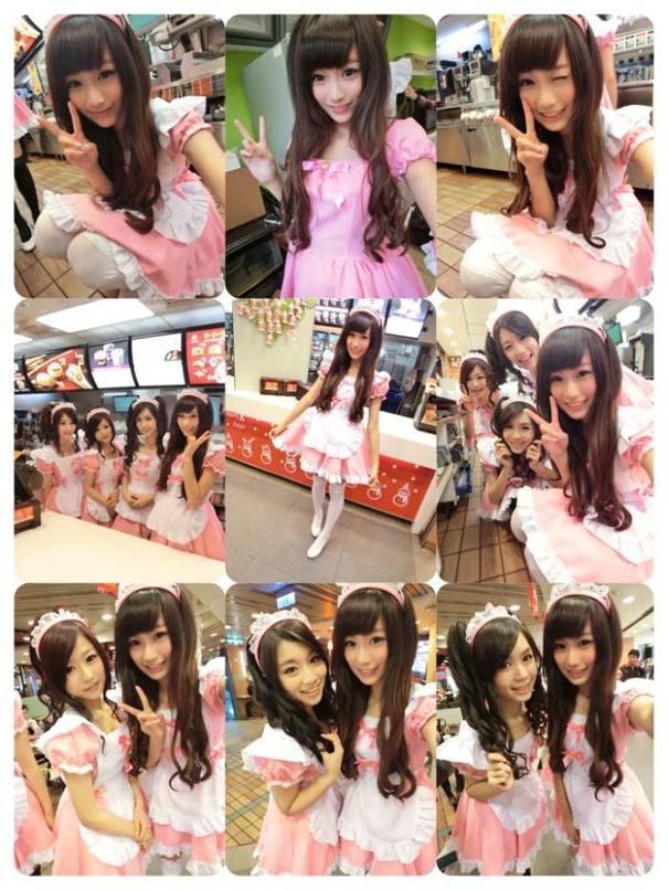 Τα κορίτσια των McDonald's στην Ταϊβάν (6)