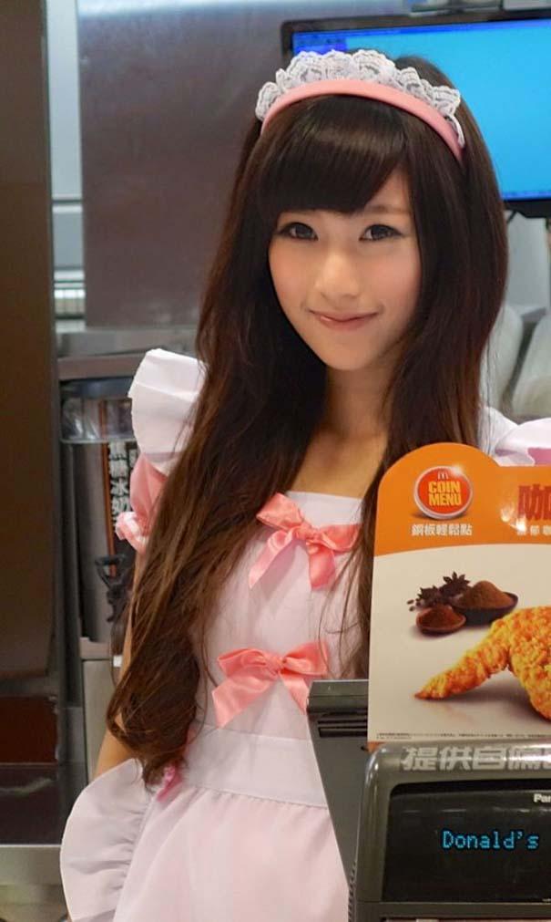 Τα κορίτσια των McDonald's στην Ταϊβάν (9)