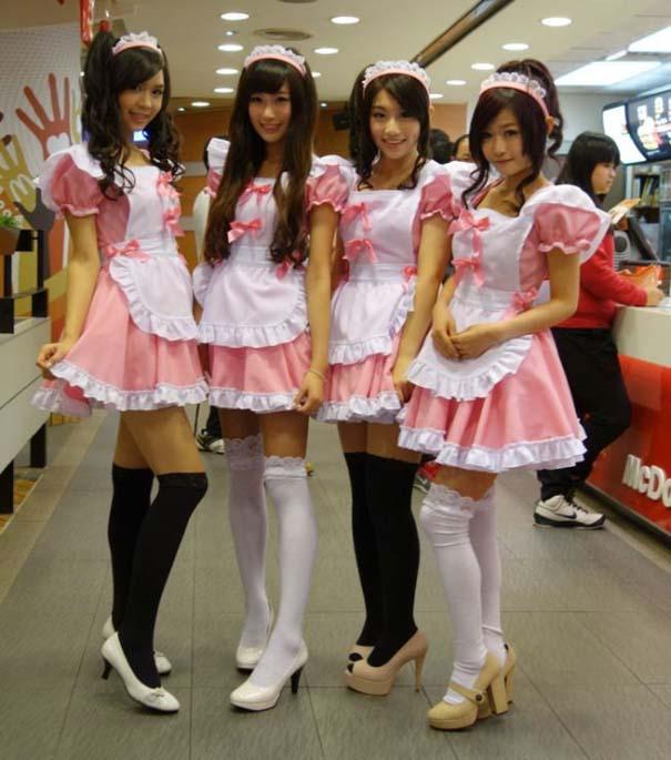 Τα κορίτσια των McDonald's στην Ταϊβάν (13)