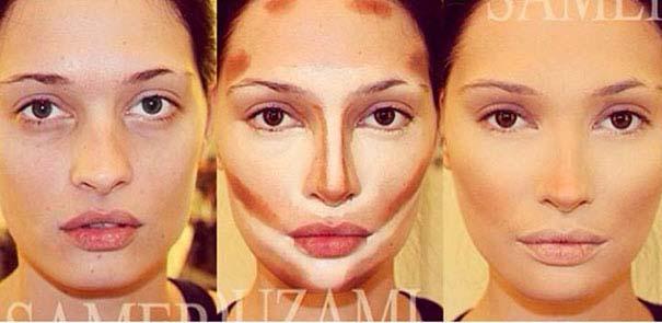 Η μαγεία του μακιγιάζ από τον Samer khouzami (1)