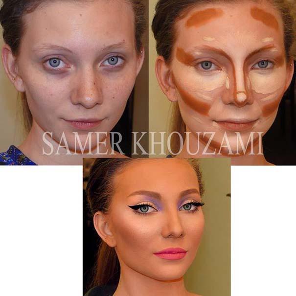 Η μαγεία του μακιγιάζ από τον Samer khouzami (2)