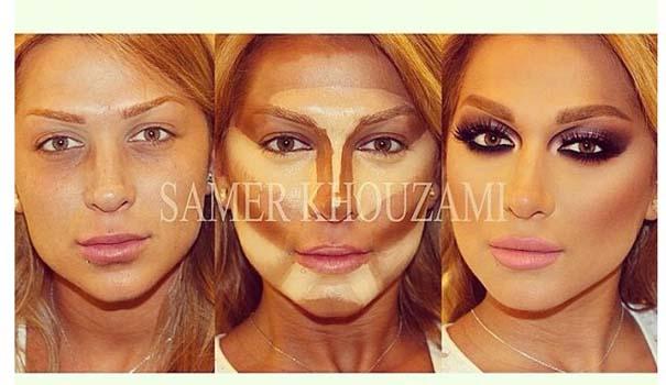 Η μαγεία του μακιγιάζ από τον Samer khouzami (5)