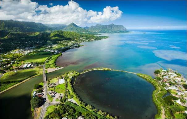 Μαγευτικό εναέριο ταξίδι στα νησιά της Χαβάης (2)