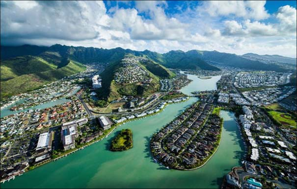Μαγευτικό εναέριο ταξίδι στα νησιά της Χαβάης (4)