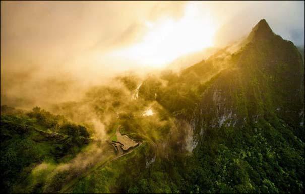 Μαγευτικό εναέριο ταξίδι στα νησιά της Χαβάης (5)