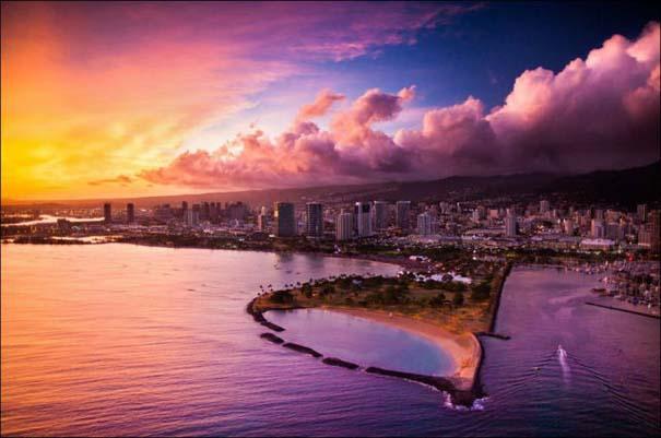 Μαγευτικό εναέριο ταξίδι στα νησιά της Χαβάης (7)