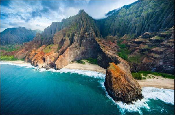 Μαγευτικό εναέριο ταξίδι στα νησιά της Χαβάης (8)