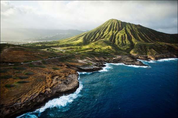 Μαγευτικό εναέριο ταξίδι στα νησιά της Χαβάης (13)