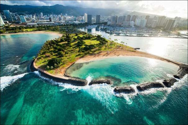 Μαγευτικό εναέριο ταξίδι στα νησιά της Χαβάης (26)