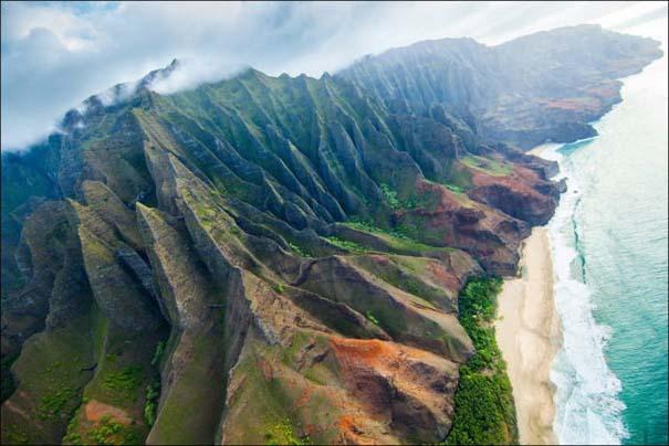 Μαγευτικό εναέριο ταξίδι στα νησιά της Χαβάης (27)