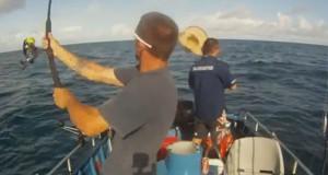 Όταν το ψάρεμα πάει στραβά… (Video)