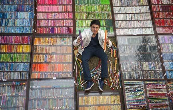 Η μεγαλύτερη συλλογή από μολύβια στον κόσμο (1)