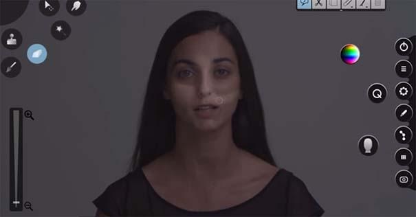 Η μεταμόρφωση μιας απλής κοπέλας σε εκθαμβωτική τραγουδίστρια με τεχνικές επεξεργασίας βίντεο (2)