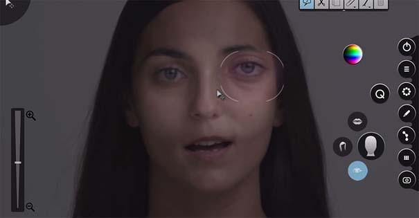 Η μεταμόρφωση μιας απλής κοπέλας σε εκθαμβωτική τραγουδίστρια με τεχνικές επεξεργασίας βίντεο (4)