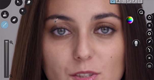 Η μεταμόρφωση μιας απλής κοπέλας σε εκθαμβωτική τραγουδίστρια με τεχνικές επεξεργασίας βίντεο (6)