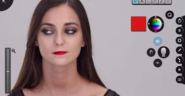 Η μεταμόρφωση μιας απλής κοπέλας σε εκθαμβωτική τραγουδίστρια με τεχνικές επεξεργασίας βίντεο (7)