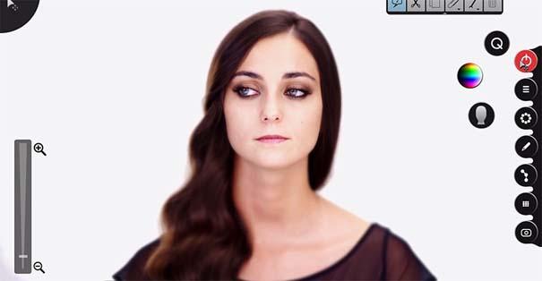 Η μεταμόρφωση μιας απλής κοπέλας σε εκθαμβωτική τραγουδίστρια με τεχνικές επεξεργασίας βίντεο (10)