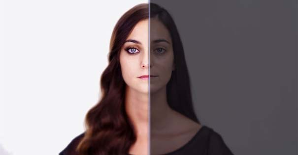Η μεταμόρφωση μιας απλής κοπέλας σε εκθαμβωτική τραγουδίστρια με τεχνικές επεξεργασίας βίντεο (11)