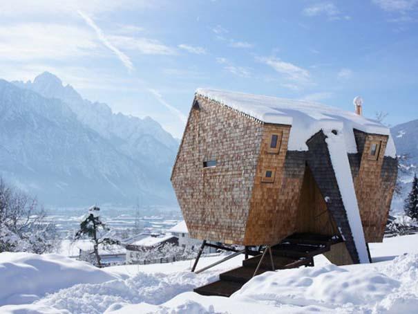 Μινιμαλιστικό σπίτι στις Αυστριακές Άλπεις (1)