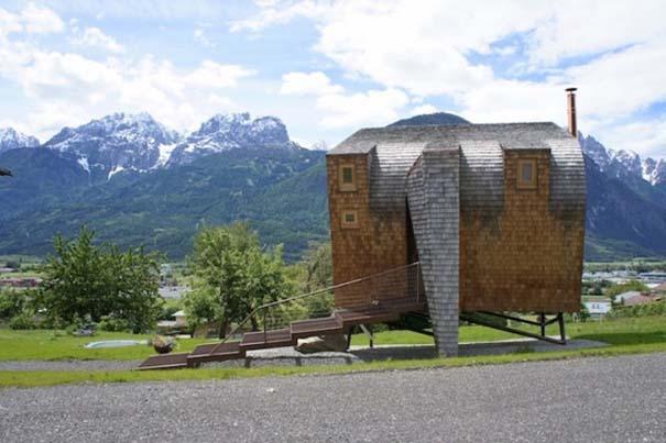Μινιμαλιστικό σπίτι στις Αυστριακές Άλπεις (6)