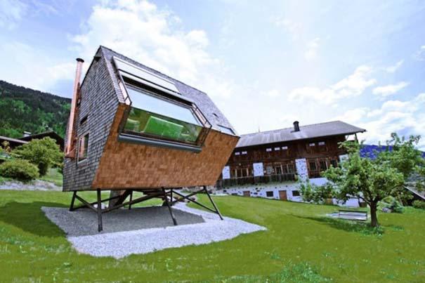 Μινιμαλιστικό σπίτι στις Αυστριακές Άλπεις (5)