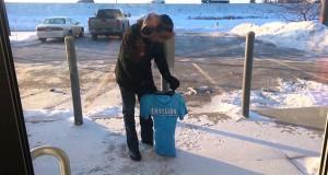 Μπλουζάκι παγώνει μέσα σε ένα λεπτό (Video)