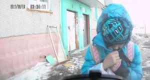 Όταν η αφηρημάδα συνδυάζεται με πολικό ψύχος… (Video)