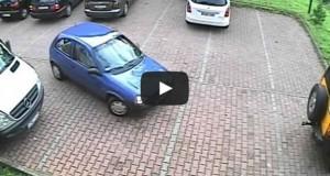 Όταν η έξοδος από parking μοιάζει με πυρηνική φυσική (Video)