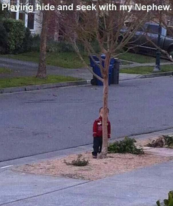 Παιδιά που δεν τα πάνε καθόλου καλά με το κρυφτό (7)