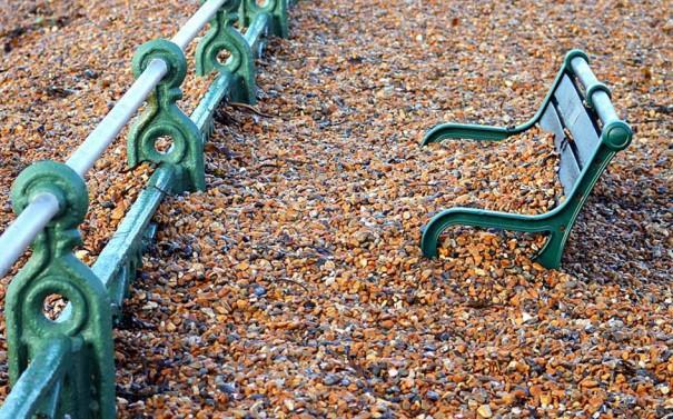 Προκυμαία μετά από παλιρροιακά κύματα | Φωτογραφία της ημέρας
