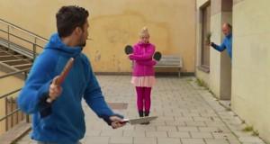 Ping pong με μαχαίρια (Video)