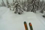 Πως είναι να κάνεις σκι μέσα σε δάσος