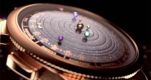 Ρολόι εμπνευσμένο από το πλανητικό σύστημα (Video)
