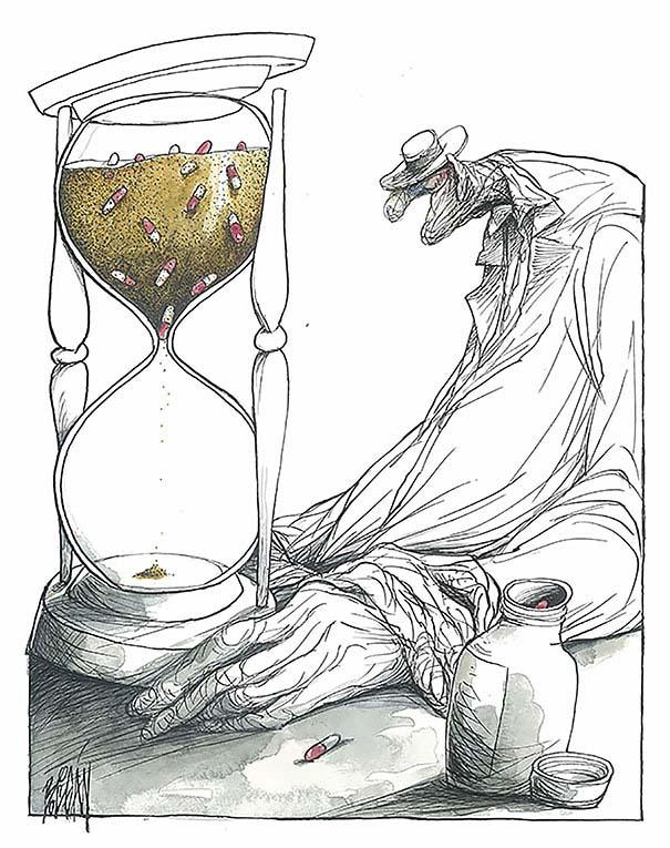Σατυρικά σκίτσα από τον Angel Boligan (1)
