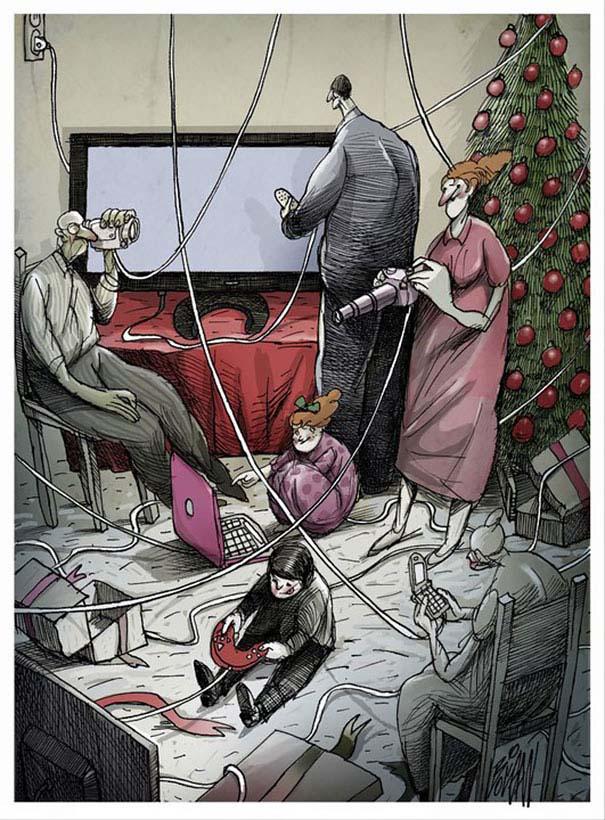 Σατυρικά σκίτσα από τον Angel Boligan (2)