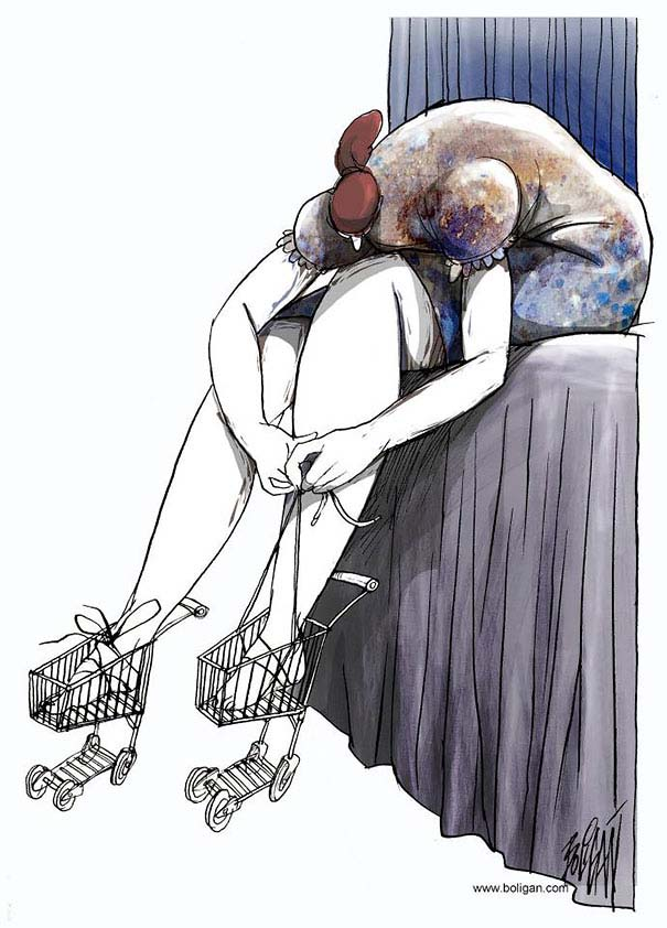Σατυρικά σκίτσα από τον Angel Boligan (3)