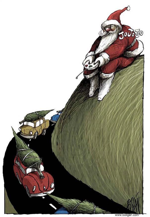 Σατυρικά σκίτσα από τον Angel Boligan (4)