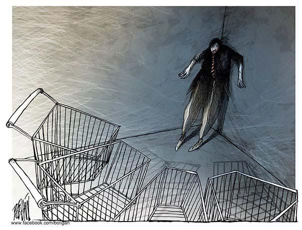 Σατυρικά σκίτσα από τον Angel Boligan (6)