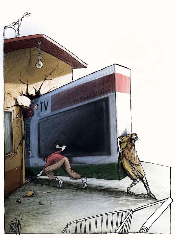 Σατυρικά σκίτσα από τον Angel Boligan (7)