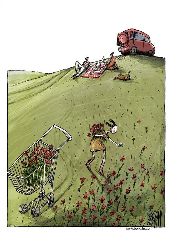 Σατυρικά σκίτσα από τον Angel Boligan (8)