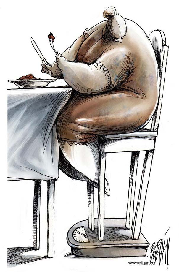 Σατυρικά σκίτσα από τον Angel Boligan (9)