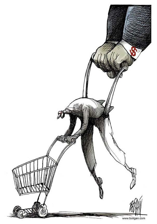 Σατυρικά σκίτσα από τον Angel Boligan (10)