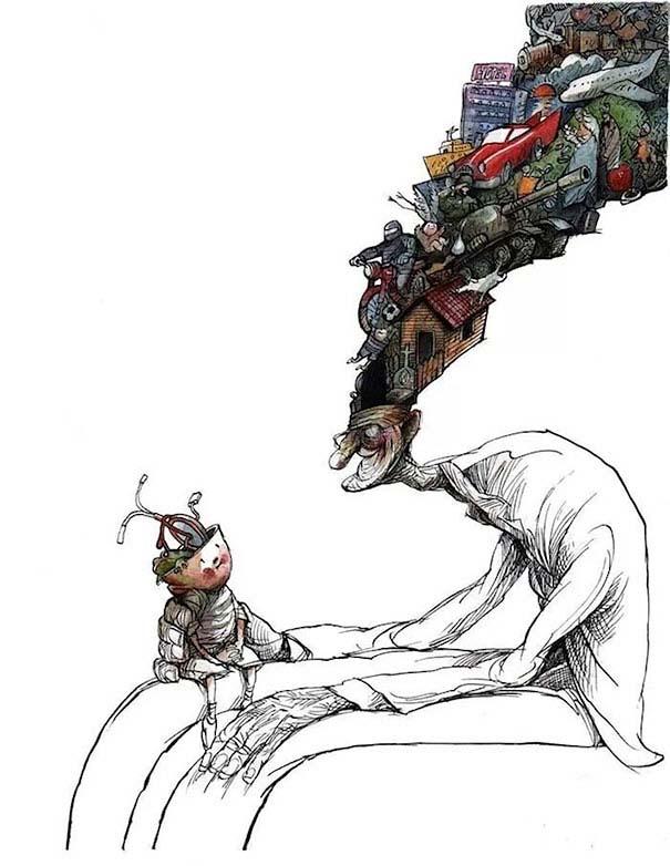 Σατυρικά σκίτσα από τον Angel Boligan (13)
