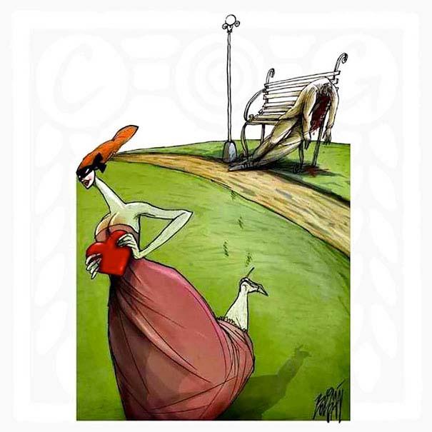 Σατυρικά σκίτσα από τον Angel Boligan (16)