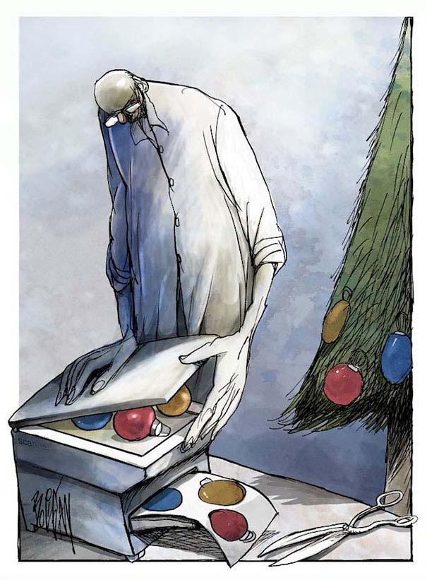 Σατυρικά σκίτσα από τον Angel Boligan (17)